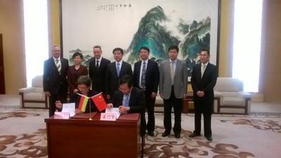 Unterzeichnung Partnerschaftserklärung