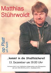 Plakat Matthias Stührwoldt