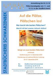 Plakat Plätzchen-Wettbewerb