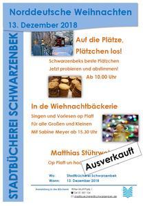 Plakat - Norddeutsche Weihnacht