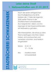 Plakat Netzwerktreffen
