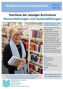 Nachlese der Leipziger Buchmesse - Plakat
