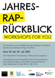 Jahres-Rap-Rueckblick Plakat