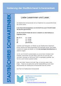 Sanierung der Stadtbücherei - Flyer (2)