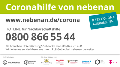 Externer Link: http://www.nebenan.de/corona