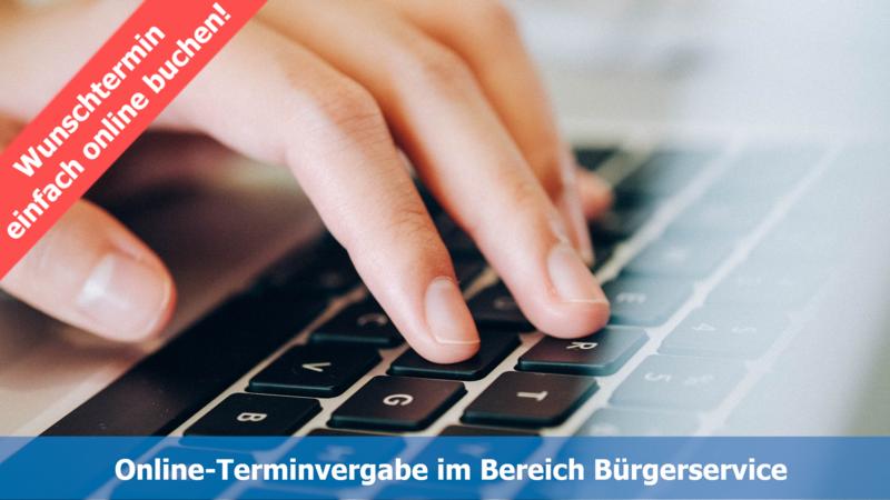 Online-Terminvergabe im Bereich Bürgerservice