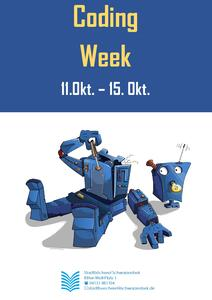 Coding Week Flyer