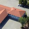 Feuerwehr Gerätehaus Luftaufnahme